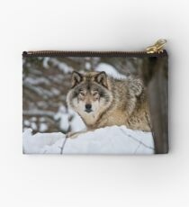 Timber Wolf Studio Pouch