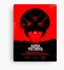 Lienzo Super Metroid