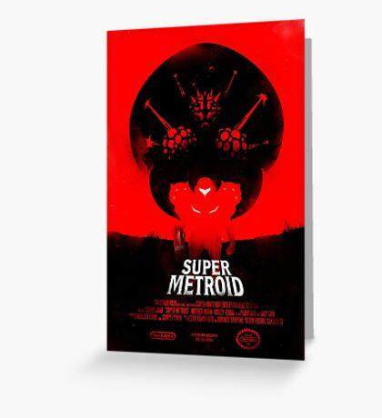 Super Metroid Greeting Card