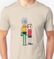 Mermaid Rick and Barnacle Morty Unisex T-Shirt