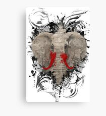 The Missing Elephant Canvas Print