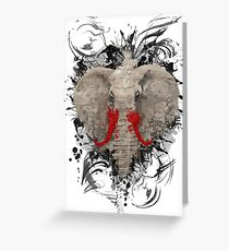 The Missing Elephant Greeting Card
