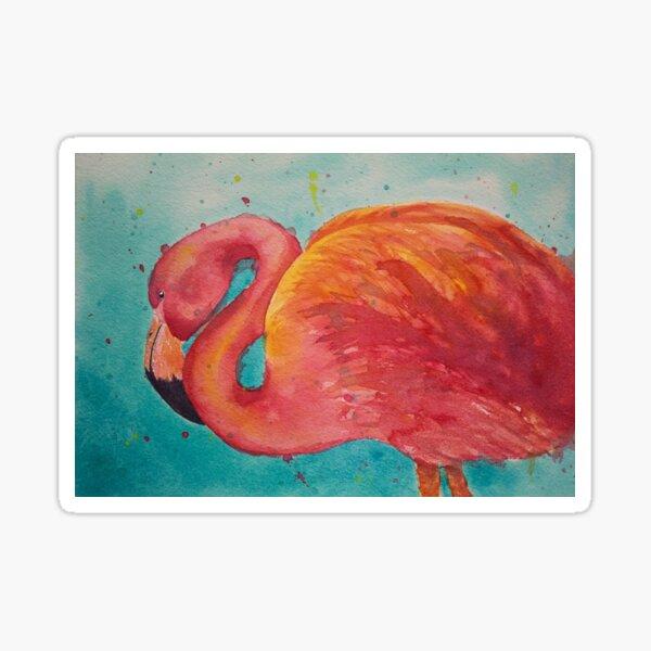 Flamingo 2 Sticker