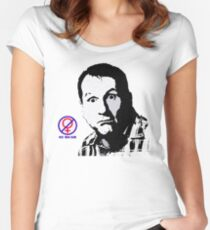 Al Bundy, No ma'am Classic, Married with Children no. 2 Women's Fitted Scoop T-Shirt