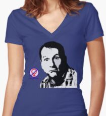 Al Bundy, No ma'am Classic, Married with Children no. 2 Women's Fitted V-Neck T-Shirt
