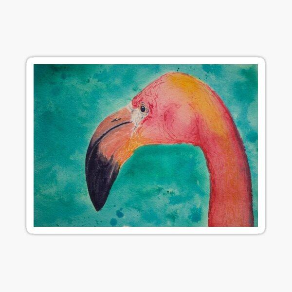 Flamingo 1 Sticker
