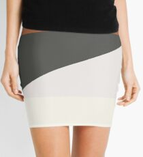 Minimalist We Bare Bears 2.0 (Larger) Mini Skirt