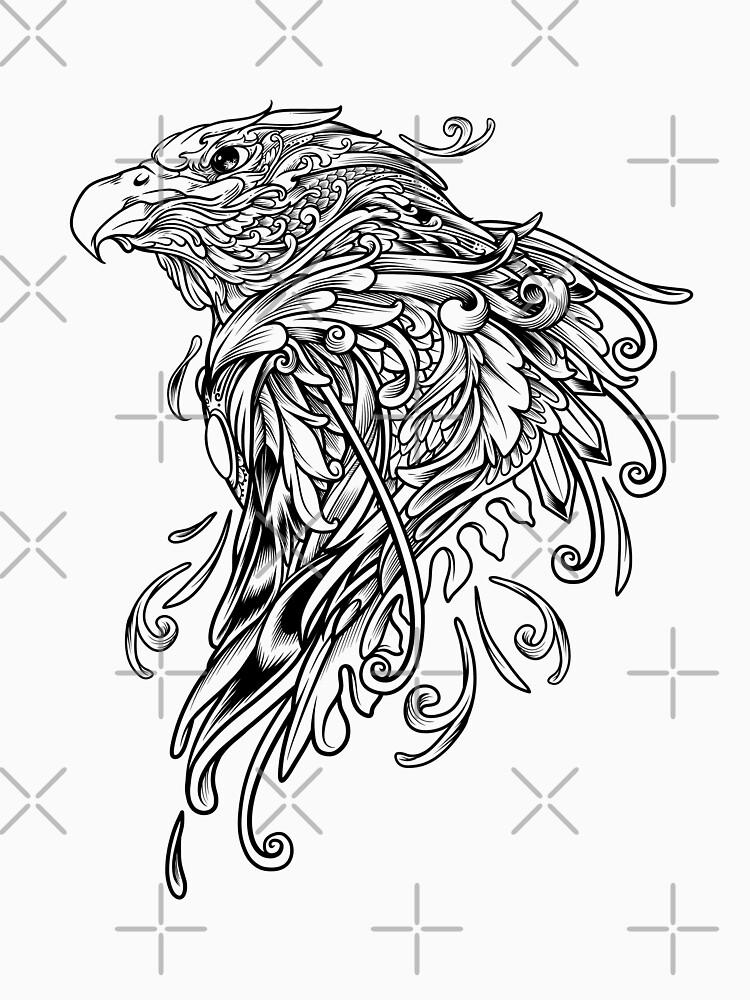 Ornate Eagle by angoes25