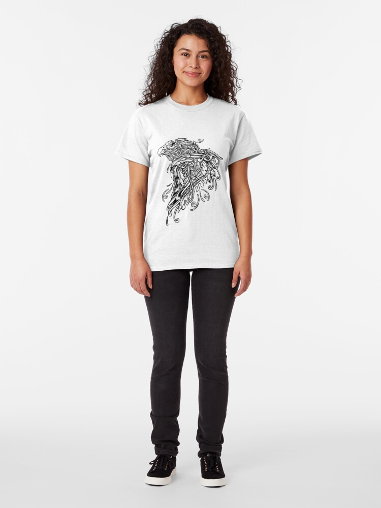 Alternate view of Ornate Eagle Classic T-Shirt