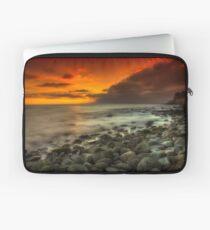 Steephill Cove Sunset Laptop Sleeve