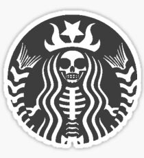 Starbucks - Death Sticker