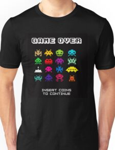 Game Over Invaders T-shirt