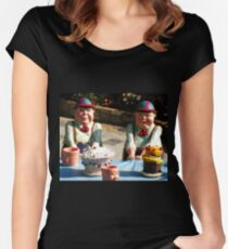 Tweedledum and Tweedledee Women's Fitted Scoop T-Shirt