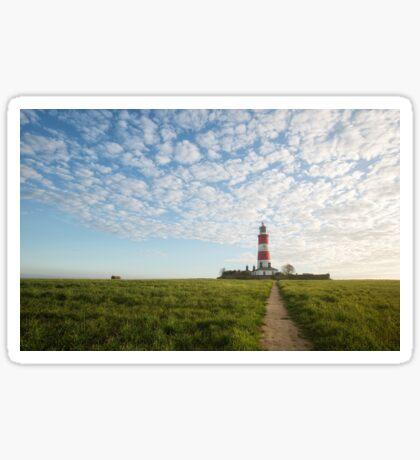 Happisburgh Lighthouse, Norfolk, UK. Sticker