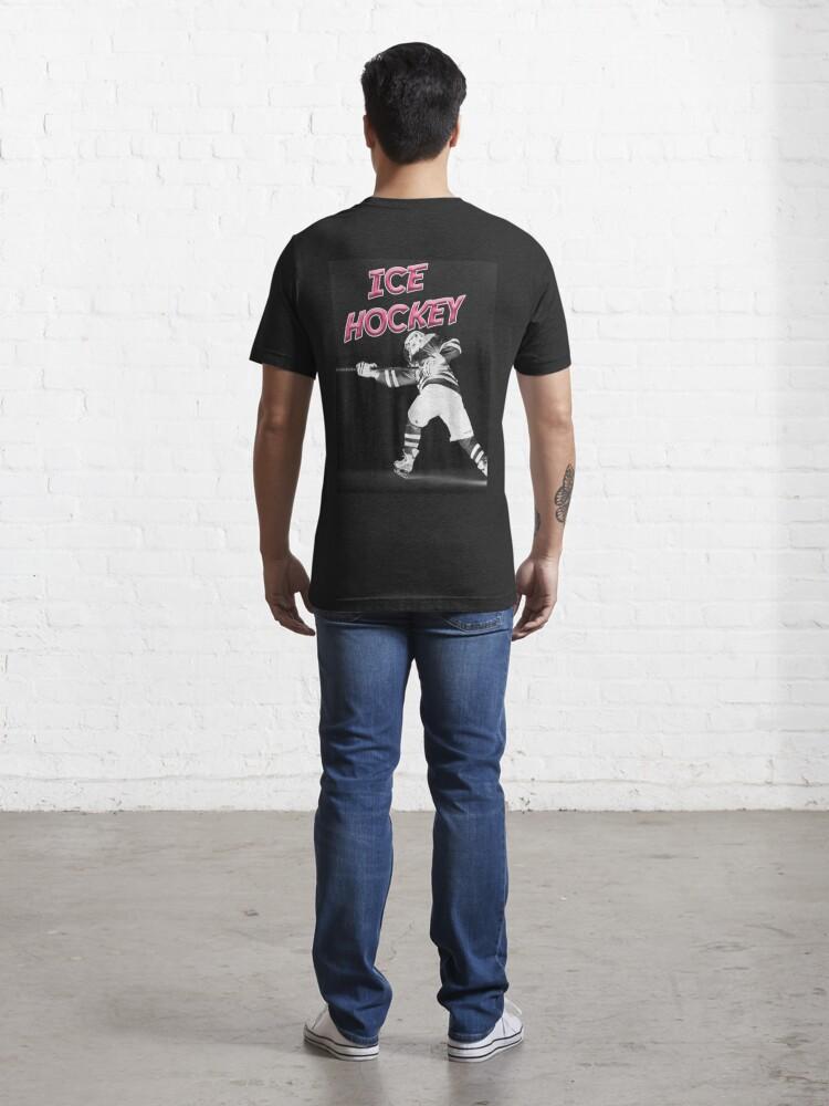 Alternative Ansicht von Eishockeyspieler Sport Essential T-Shirt