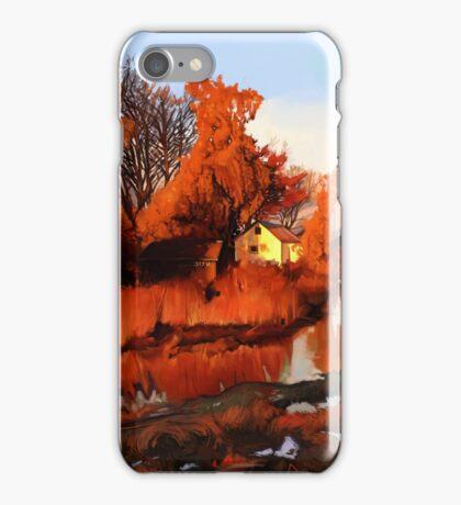Finn Slough in Autumn iPhone Case/Skin