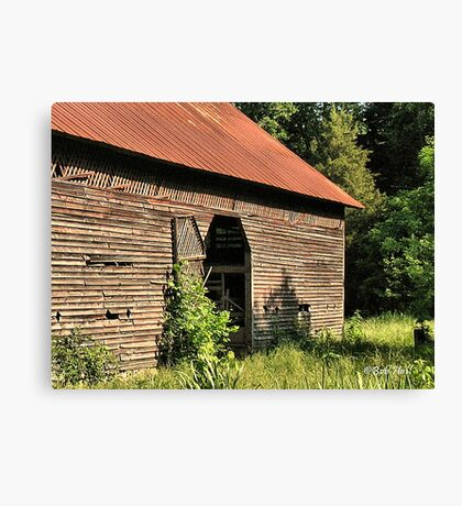 """""""A Testament to Weathering the Long Hard Years""""... prints and products Canvas Print"""