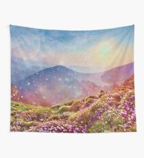 Summer mountains Wall Tapestry