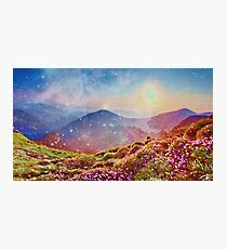 Summer mountains Photographic Print