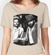 Terence Hill & Bud Spencer - Italian actors Women's Relaxed Fit T-Shirt