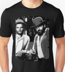 Terence Hill & Bud Spencer - Italian actors T-Shirt