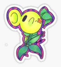 Pea-Cutie Sticker