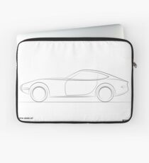 Design Lines - Toyota 2000GT Laptop Sleeve