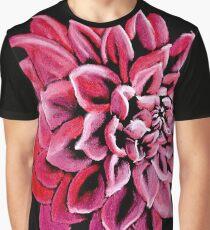 Red Dahlia Graphic T-Shirt