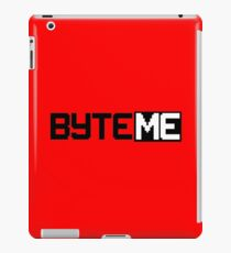 Byte Me iPad Case/Skin
