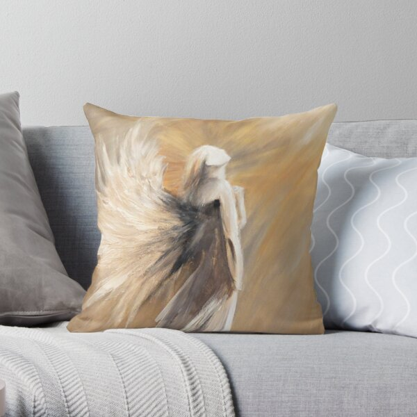 Up to Him_design 1 by Thomas Andrew Throw Pillow