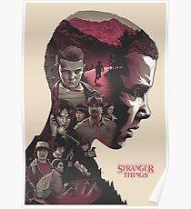 stranger things series Poster
