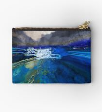abstract landscape - the lake district  Studio Pouch
