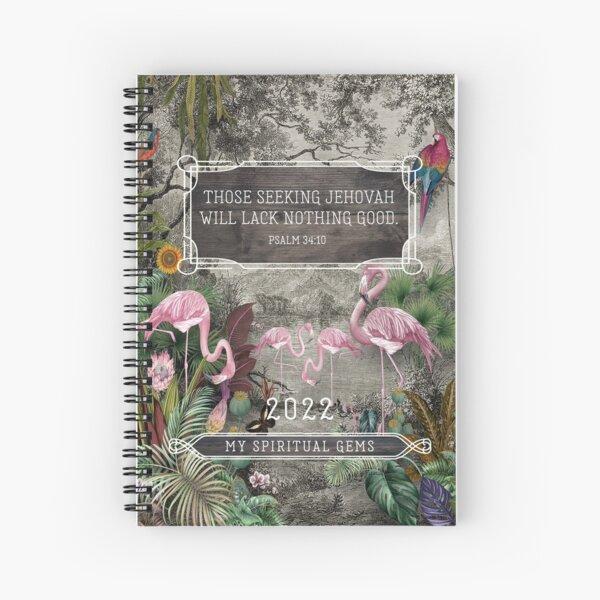 Yeartext 2022 My Spiritual Gems (Flamingo) Spiral Notebook