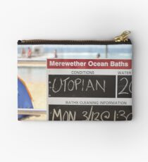 Merewether Baths - Utopian Conditions Studio Pouch