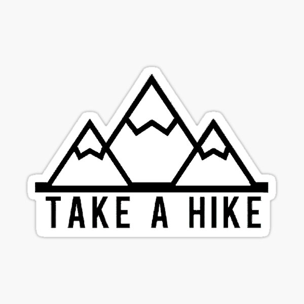 Faire une promenade Sticker