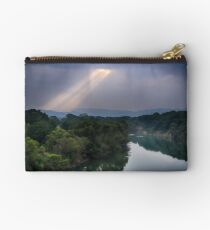 God looking down Studio Pouch
