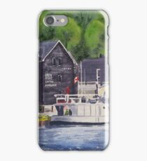 Inn On The Harbour - Port Stanley iPhone Case/Skin