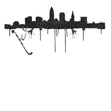 Cleveland Splatter  by JoeRogoff
