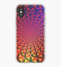 Holographic networks iPhone Case