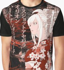 Kiss-Shot Yukata Graphic T-Shirt