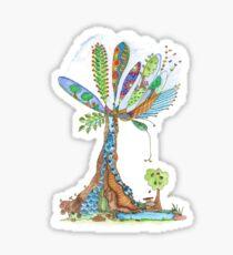 Tree of Life 12 Sticker