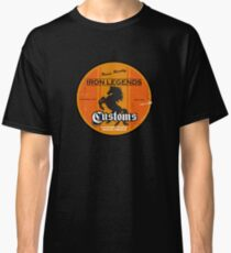 Hot Rod Retro Decal Classic T-Shirt