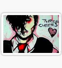 Three Cheers Sticker