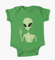 peace alien One Piece - Short Sleeve