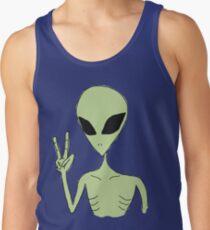 peace alien Tank Top