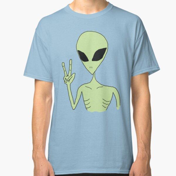 peace alien Classic T-Shirt