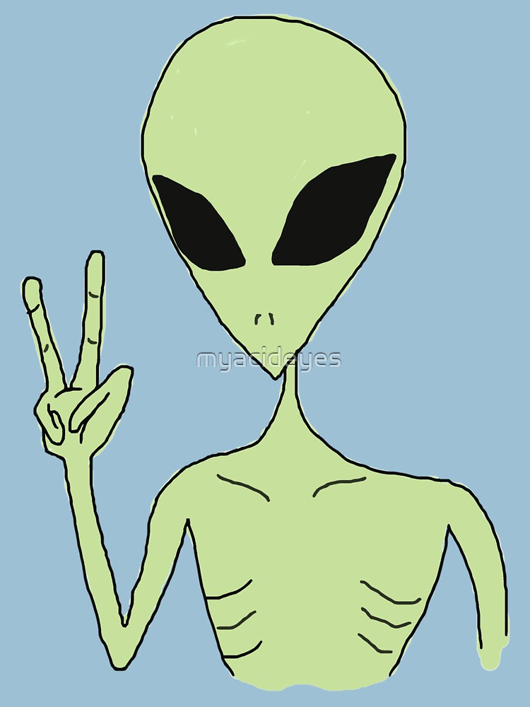peace alien | Unisex T-Shirt