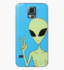 peace alien Case/Skin for Samsung Galaxy