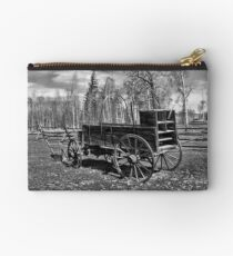 Chuckwagon & Plow Ft. Bridger Studio Pouch