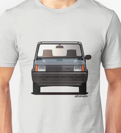 Fiat Panda 80s Car T-shirt Unisex